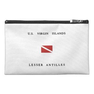 US Virgin Islands Lesser Antilles Scuba Dive Flag Travel Accessories Bag