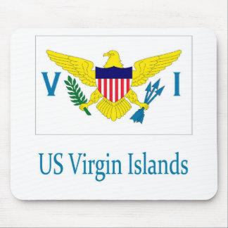 US Virgin Islands Mousepads