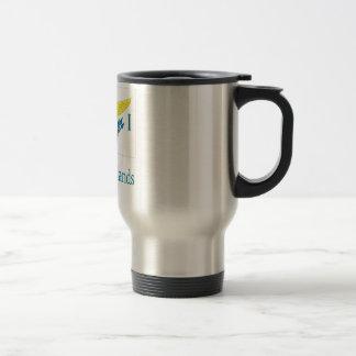 US Virgin Islands 15 Oz Stainless Steel Travel Mug