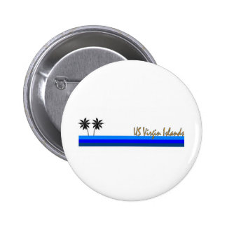 US Virgin Islands Pinback Buttons