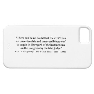 US vs Dougherty 473 F 2nd 1113 1139 1972 iPhone SE/5/5s Case