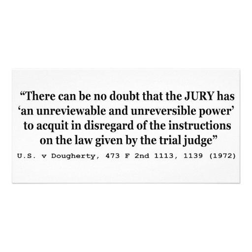 US vs Dougherty 473 F 2nd 1113 1139 1972 Photo Card