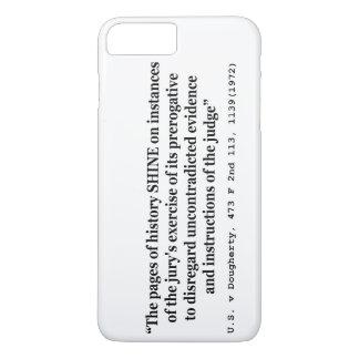 US vs Dougherty 473 F 2nd 1113 1139 1972 Shine iPhone 7 Plus Case
