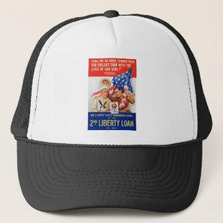 US War Bonds 2nd Liberty Loan 1917 WWI Propaganda Trucker Hat