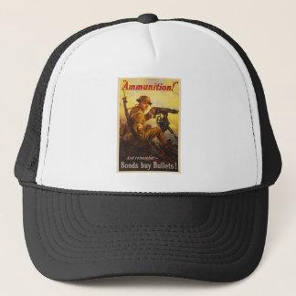 US War Bonds Ammunition WWI Propaganda Trucker Hat