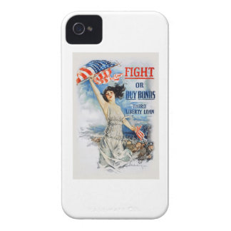 US War Bonds Fight Buy Third Liberty Loan WWI iPhone 4 Cover