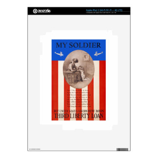 US War Bonds Liberty Loan Prayer WWI Propaganda iPad 3 Skins
