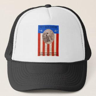 US War Bonds Liberty Loan Prayer WWI Propaganda Trucker Hat
