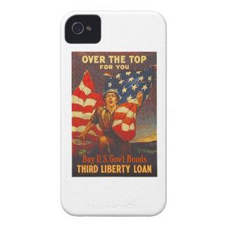 US War Bonds Third Liberty Loan WWI Propaganda iPhone 4 Case-Mate Case
