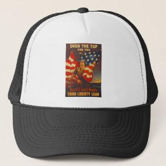 US War Bonds Third Liberty Loan WWI Propaganda Trucker Hat