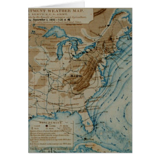 US Weather Map Card