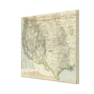 US Western Canvas Print