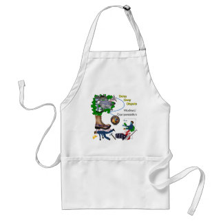 US Workers' Compensation 3-D Game Apron