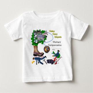 US Workers Compensation 3-D Game BabyTee Baby T-Shirt