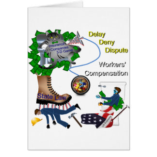 US Workers' Compensation 3-D Game Card