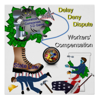 US Worker's Compensation Poster
