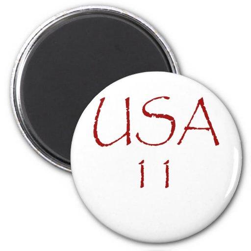 USA11 IMAN DE FRIGORÍFICO