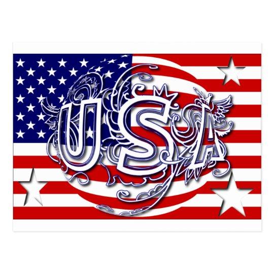 USA122709 POSTCARD