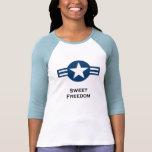 USA1_Sweet_Freedom_shirt_blue Camisetas