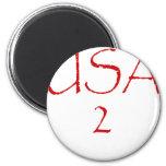 USA2 REFRIGERATOR MAGNETS