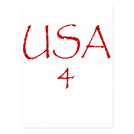 USA4 TARJETA POSTAL