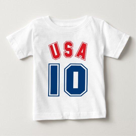 USA 10 BABY T-Shirt
