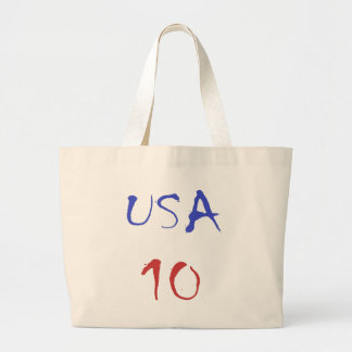 Usa 10 Cool Design! Special design for sports fan! Tote Bags