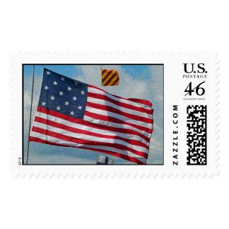 USA 15 Star Flag Postage