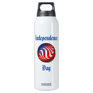 USA 16 OZ INSULATED SIGG THERMOS WATER BOTTLE