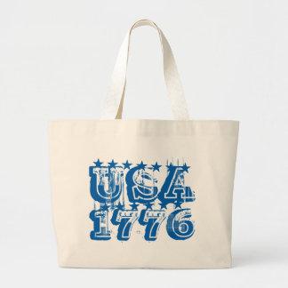 USA 1776 - Blue Tote Bag