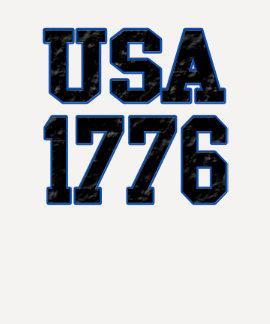 USA 1776 (blue) T-Shirt