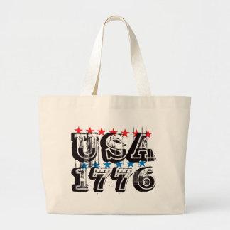 USA 1776 - Color Tote Bags