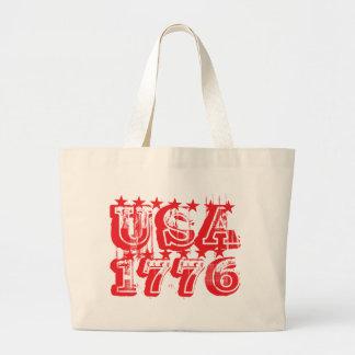 USA 1776 - Red Tote Bag
