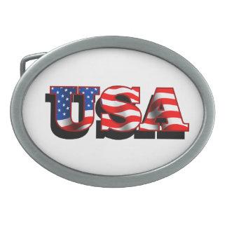 USA 1 Belt Buckle