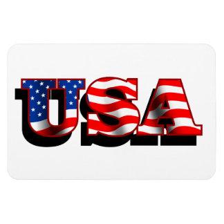 USA 1 Flexi Magnets