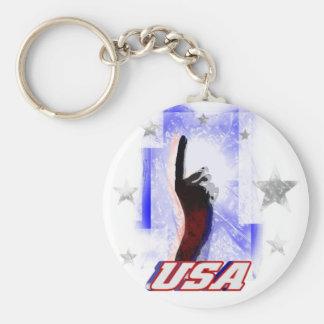 USA #1 KEYCHAIN