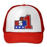 USA-#1 Stars Trucker Hat