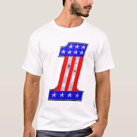 USA 1 VINTAGE CHROME EMBLEM T-Shirt