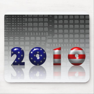 USA 2010 celebration Mouse Pad