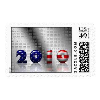 USA 2010 celebration Stamp