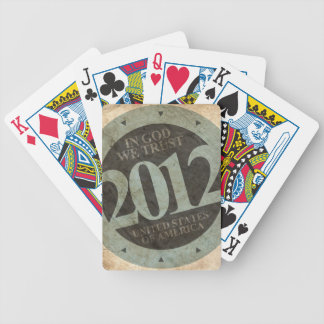 USA 2012 BICYCLE PLAYING CARDS