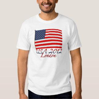 Usa 2012 london tee shirt