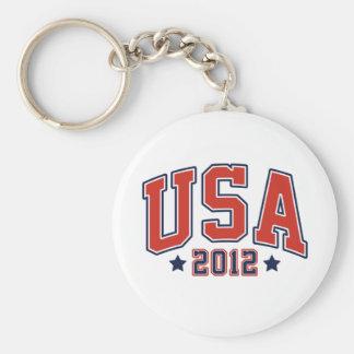 USA 2012 Team USA Games Key Chain