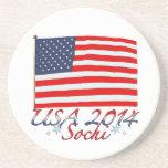 USA 2014 BEVERAGE COASTER