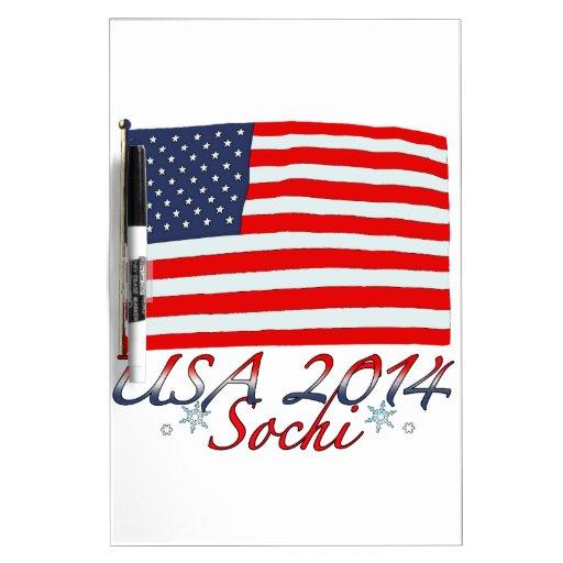 USA 2014 Dry-Erase BOARD