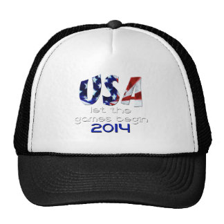 USA 2014 Let the Games Begin Hat