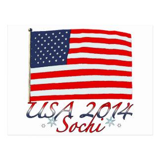 USA 2014 POSTCARD