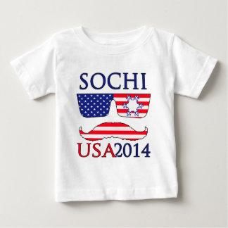 USA 2014 winter Baby T-Shirt