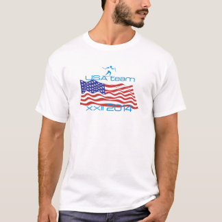 USA 2014 Winter Sports Cross Country Skiing T-Shirt