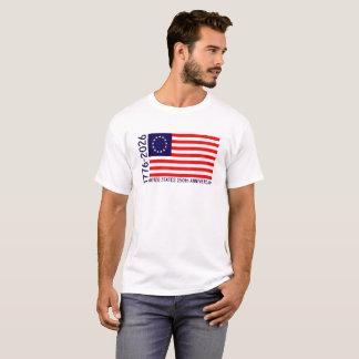 USA 250th Anniversary Betsy Ross Flag T-Shirt